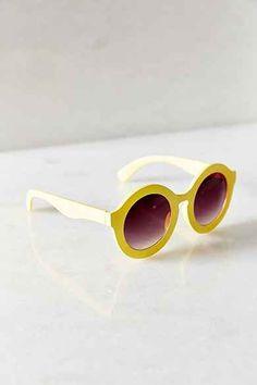 BDG Saturday Morning Oversized Round Sunglasses