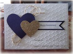 My daughter Sarah and her husband Sean celebrated 14 years of marriage earlier this week. It seems like only yesterday I watched them exchange their vows and yet they have achieved so much and mad… wedding quotes Happy Anniversary Anniversary Cards For Husband, Wedding Anniversary Cards, Cricut Anniversary Card, Handmade Anniversary Cards, Anniversary Funny, Aniversary Cards, Anniversary Scrapbook, Paper Cards, Diy Cards