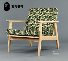 A BATHING APE x MEDICOM TOY LIFE ENTERTAINMENT x Karimoku – BAPE Camo Furniture Collection | Available Now