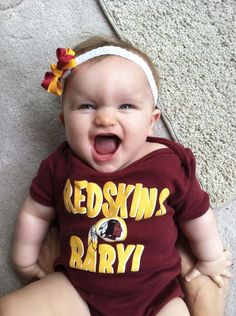 Ready to cheer on the #Redskins!