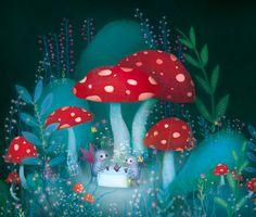 Firefly by Lisa Evans, via Behance