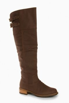 ShopSosie Style : Overstreet Boots in Brown Crazy Shoes, Me Too Shoes, Shoe Cobbler, Fashion Heels, High Fashion, Heeled Boots, Suede Boots, Cool Boots, Penny Loafers