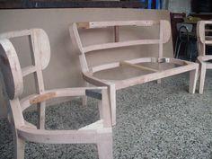 The Best 2019 Interior Design Trends - Interior Design Ideas Wood Furniture Legs, Steel Furniture, Furniture Upholstery, Furniture Plans, Home Furniture, Furniture Design, Diy Furniture Building, Diy Furniture Easy, Upcycled Furniture
