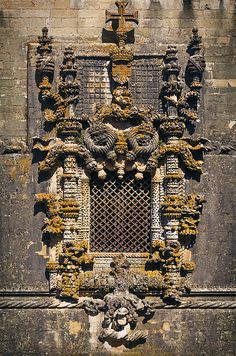 Window in Convent Of Christ - Tomar, Portugal
