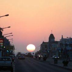 Sunset in Swakopmund, Namibia