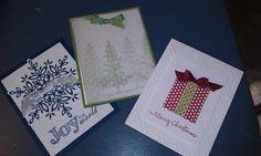 Christmas card buffet 2013