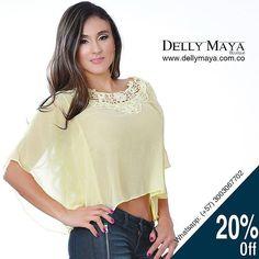 #SALE #SALE #SALE GRAN LIQUIDACIÓN DE TEMPORADA. Descuentos del 20% 30% 40% y 50% en prendas seleccionadas.  Blusa Dcto 20%  Precio: $60.000 COP Válido hasta agotar existencias.  @DellyMaya.Boutique compra fácil en nuestra tienda online en: www.dellymaya.com.co  Informes y pedidos @Dellyrmaya6  Whatsapp 57 3003067702 Envío de Mercancía sin costo adicional en la Ciudad de Cali y también para el resto del país por compras superiores a $300.000  #trending #fashion #boutique #onlineboutique…