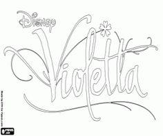 Kleurplaten Disney Violetta.15 Best Ausmalbilder Violetta Images Free Coloring Pages