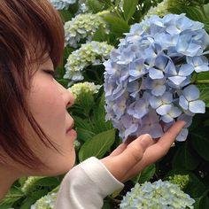 週刊現代的、エレガントな紫陽花。 #30jidori #30doga #jvuymg @ 東後畑棚田 instagram.com/p/aU6SPPlAuc/