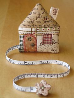 House Tape Measure 46 by PatchworkPottery, via Flickr