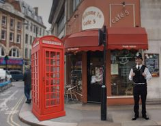 You can now own your very own British cultural icon, the London telephone box!