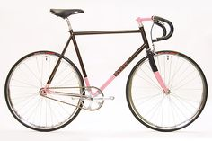 Rusby cycles, fixed commuter.