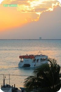 The Slow Ferry from Cancun to Isla Mujeres~ 2007