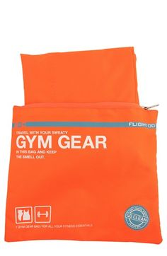 Keep your luggage smelling fresh with Flight 001 'Go Clean' Gym Gear Travel Bag available at #Nordstrom