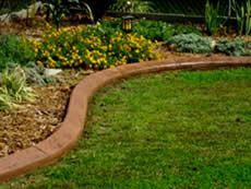 Border for lawn