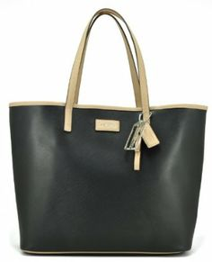 Coach Park Metro Leather Tote Bag, Style 24341 Black