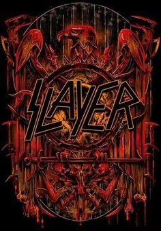 ☯☮ॐ American Hippie Classic Metal Rock Music ~ Slayer