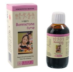 BONNIETONE BABY TONIC | Boosts immunity | lordshomoeopathic.com Bonnietone is an ideal tonic for children which promotes growth, helps in proper assimilation and removes digestive disorders like Colic and Gripe Pain. COMPOSITION: Calc Phos. 6x, Ferrum Phos. 6x, Kali Mur. 6x, Natrum Phos 6x, Silicea 6x, Alfalfa 6x, In Flavoured Syrup base. q.s., Alcohol 3% v/v.For More Info:- https://lnkd.in/fkzmVJx   Homeopathic Medicines Online Buy Homeopathic Medicines Online Buy Homeopathy Medicines…