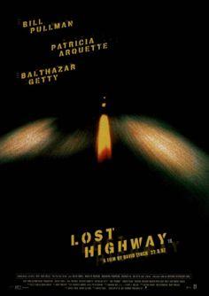David Lynch's Lost Highway film poster