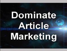 New Article Marketing Tips for Network Marketing Lead Generation - April Marie Tucker - via http://bit.ly/epinner