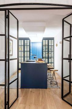 Farrow Ball, Elle Decor, Divider, Room, Madrid, Furniture, Design, Garage, Hidden Closet