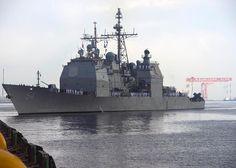 Aug. 23, 2013 - Yokosuka, Japan - Your U.S. Navy was there. USS Antietam CG 54