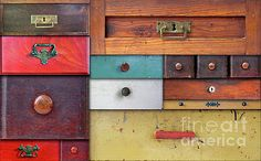 In utter secrecy - various drawers by Michal Boubin