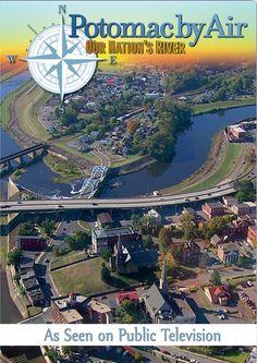 Berkeley Springs, West Virginia, Potomac by Air Our Nations River, PBS Movie/Film.