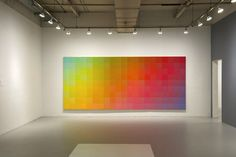 """For many, Sanford Wurmfeld: Color Visions 1966 – 2013 at the Hunter College/Times Square Gallery (February 15–April 30, 2013) will be an introduction to an artist, who, according to the art historian William C. Agee, """"may well be the best little-known painter in New York today."""""""