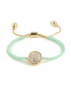 Mint Friendship Bracelet
