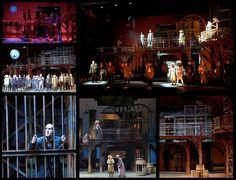 Alan Brodie - Lighting & Set Design: The Threepenny Opera Vancouver Opera - Queen Elizabeth Theatre, 2004