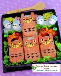 Cooking Gallery: Totoro Spam Musubi