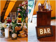 Holly and Tom's Back Garden Festival Wedding. By Babb Photo