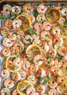 27 Sensational Shrimp Recipes You're Gonna Love Healthy Dinner Recipes, Cooking Recipes, Easy Cooking, Cooking Food, Cooking Sheet, Easy Summer Dinners, Garlic Butter Shrimp, Seafood Dinner, Dinner Menu