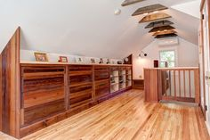Built in dressers. Swarthmore House - craftsman - bedroom - Philadelphia - Bright Common Architecture & Design