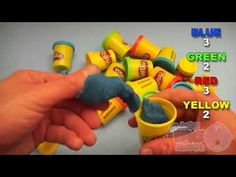 Learn Colours With Play-Doh! Fun Learning Contest!