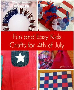 easy 4th of july toddler crafts