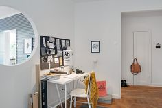 Swedish Crib Defined by Meticulously Renovated Interiors and Playful Decorations - http://freshome.com/2013/09/11/swedish-crib-defined-by-meticulously-renovated-interiors-and-playful-decorations/