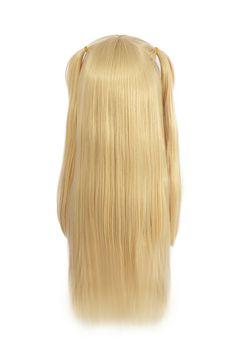22856c5edab Death Note Misa Amane Blonde Cosplay Wig Long Straight Hair Full Wig US  SHIP  Affiliate  Amane Blonde Cosplay