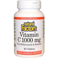 Natural Factors, Vitamin C, 1000 mg, 90 Tablets
