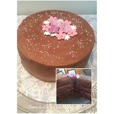 Bursdagskake Sjokoladekake Tones kaker og andre søte saker