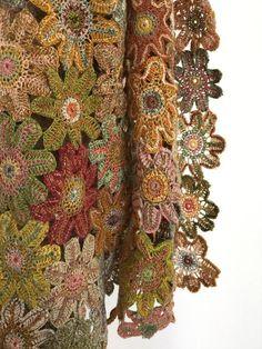 Sophie Digard - Linen Floral Scarf - 3993