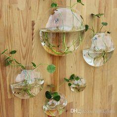 Glass Air Plant Terrarium,Wall Bubble Terrarium,Fighting Fish Tank For Home Decoration Ikebana Vases Inexpensive Floor Vases From Knikglass, $11.62| Dhgate.Com