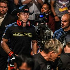 "badass game-face of Donald ""Cowboy"" Cerrone as he walks to the octagon : if you love #MMA, you'll love the #UFC & #MixedMartialArts inspired fashion at CageCult: http://cagecult.com/mma"