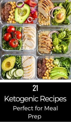 10 Keto Meal Prep Tips You Haven't Seen Before + 21 Keto Recipes - meal prep recipesThese 21 keto diet recipes are fabulous! Perfect for meal prep & planning these ketogenic recipes for breakfast, lunch, and dinner make losing weight taste delicious Ketogenic Recipes, Diet Recipes, Healthy Recipes, Snack Recipes, Dessert Recipes, Smoothie Recipes, Delicious Recipes, Keto Recipes Dinner Easy, Cooking Recipes