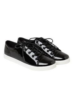 Monki Minni shoe in Black
