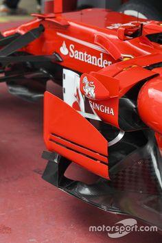 Ferrari Sfh Barge Board Detail