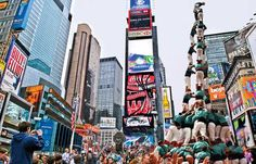 Catalan Culture in the heart of New York, Força Castellers!