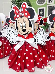Minnie Mouse Images, Minnie Mouse Doll, Minnie Mouse Theme, Mini Mouse First Birthday, Mickey Mouse Clubhouse Birthday, Mickey Mouse Birthday, Minnie Mouse Birthday Decorations, Kids Birthday Themes, Mini Doll House