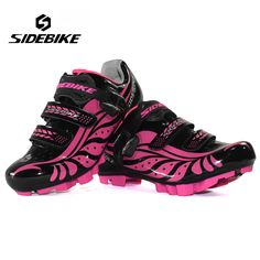 Sidebike Professional Cycling Shoes Breathable MTB Bike Shoes Women Self Locking Bicycle Boots zapatillas ciclismo